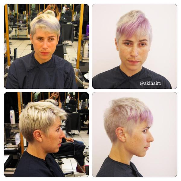 bleach and tone with panels