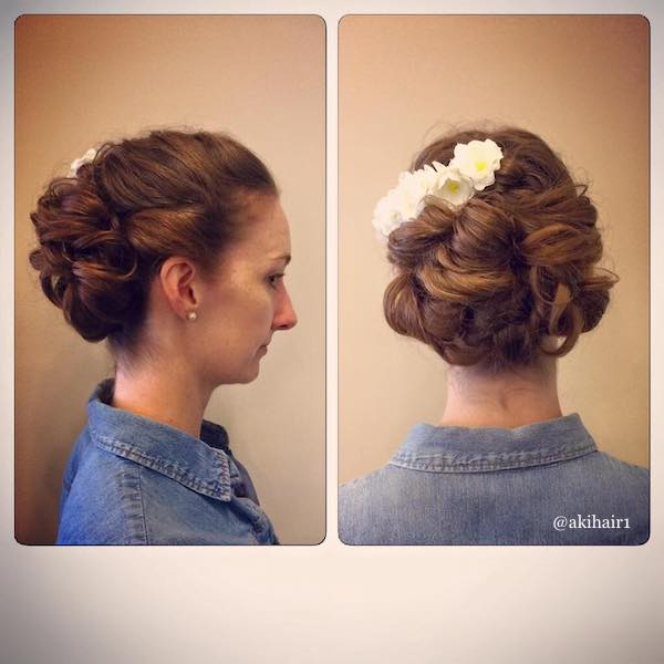 updo without backcombing
